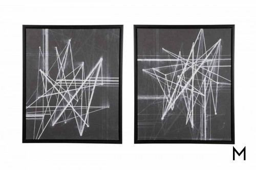 Duena Light Show Wall Art Set