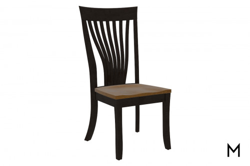 Two Tone Side Dining Chair