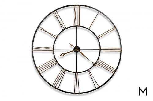 """Postmaster 49"""" Wall Clock"""