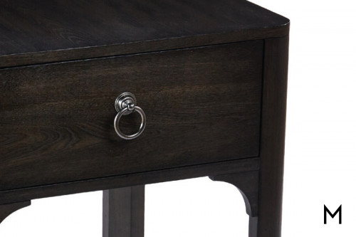 Davison End Table in Chestnut Brown