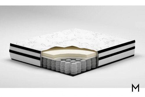 "10"" Hybrid Chime Queen Mattress"