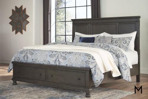 Devensted Queen 4 Piece Bedroom Set with Storage Footboard