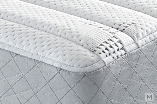 Mattress 1st Nachman Plush Mattress - Twin XL with Gel-Enhanced Memory Foam