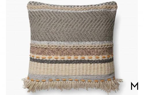 Ellen Grey Pillow