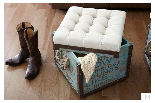 Melody Storage Ottoman by Eric Church