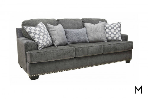 Locklin Sofa in Carbon Grey
