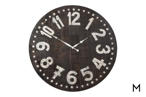 Vintage Schoolhouse Clock