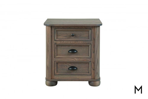 Kingport Nightstand with 3 Drawers