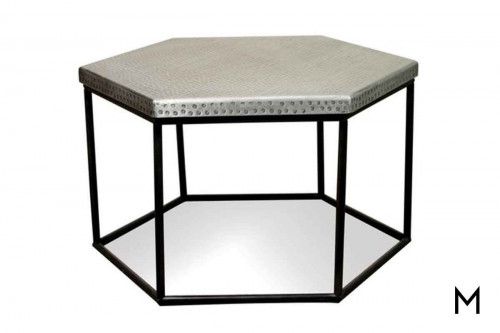Hexagon Cocktail Table