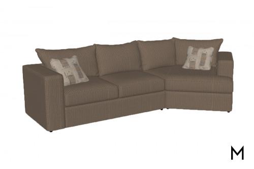 Cuddle Corner 2-Piece Sectional Sofa