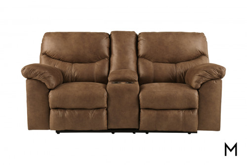Reclining Loveseat with Central Console