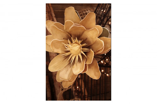 Beige Foam Flower