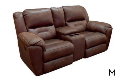 M Collection Pandora Double Reclining Loveseat