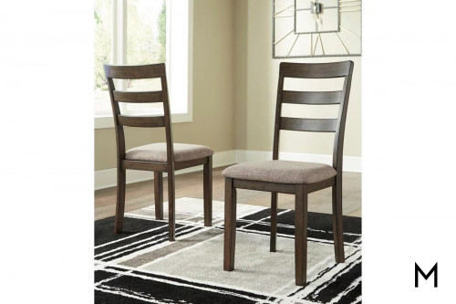 Drewing Dining Side Chair with Upholstered Seat