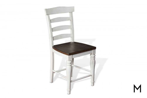 Bourbon County Ladderback Stool