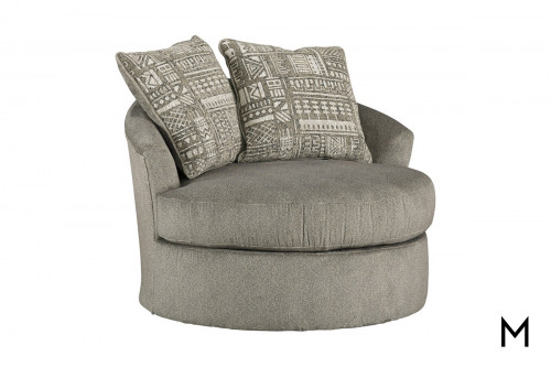 Soletren Swivel Chair in Ash