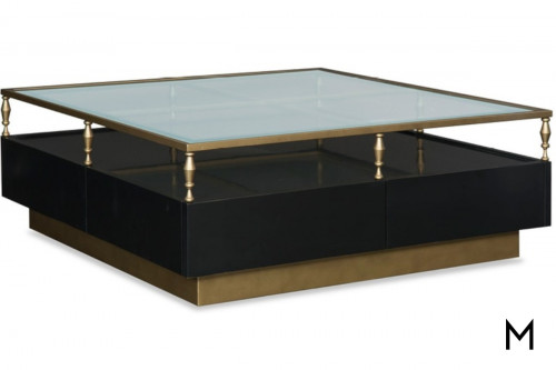 Quintessence Square Cocktail Table