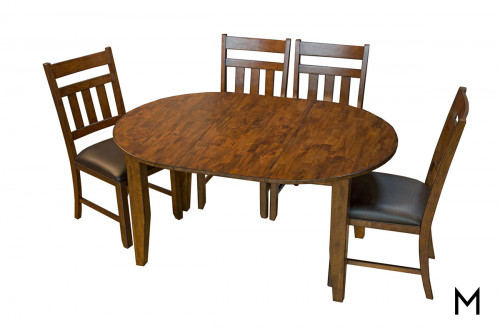 Mason 5 Piece Dining Set with 4 Chairs