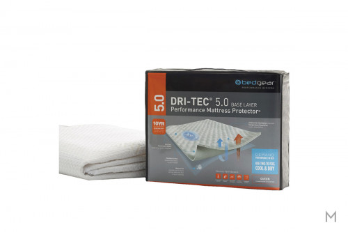 Dri-Tec 5.0 Waterproof Performance Mattress Protector - Twin with Dri-Tec 5.0 Fabric Surface