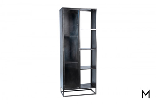 Belson Metal Display Cabinet with Glass Front Door