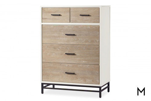 Two-Tone 5-Drawer Dresser