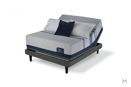 Serta Blue Max 3000 Elite Plush Mattress - King with EverCool® Supreme Memory Foam