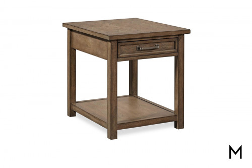 Terrace End Table with Drawer