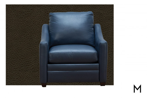 M Collection Hanna Reclining Accent Chair
