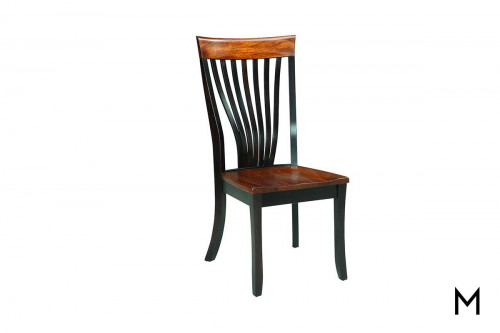 Brinkley Dining Chair with Two Tone Finish