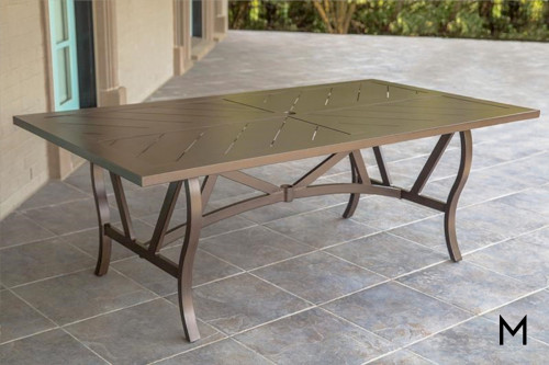 M Collection Trenton Patio Dining Table