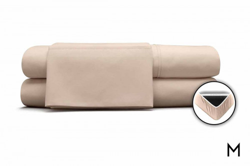 1 Degree Microfiber Twin XL in Hazelnut