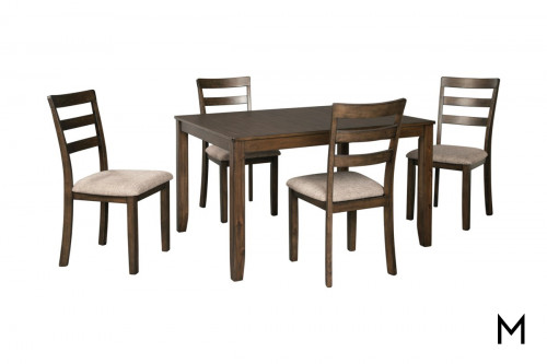 Drewing 5 Piece Dining Set
