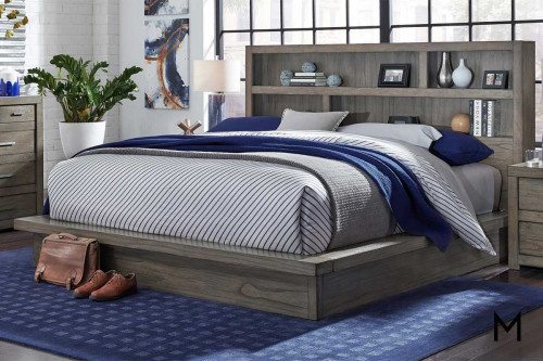 Modern Loft Platform Bed in King