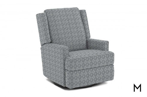 Ainsley Swivel Recliner in Stonehaven Way Mineral