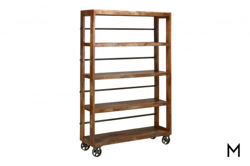 M Collection Wheeled Bookcase