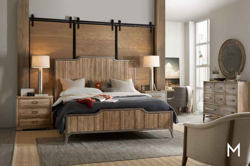 Urban Elevation King Panel Bed