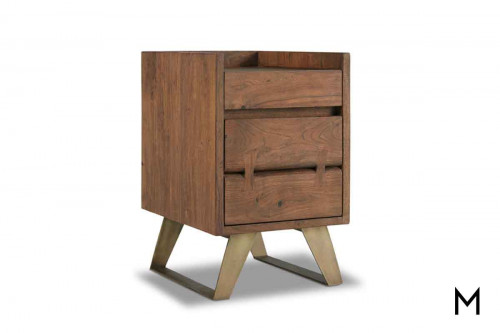 Transcend File Cabinet made of Acacia Wood