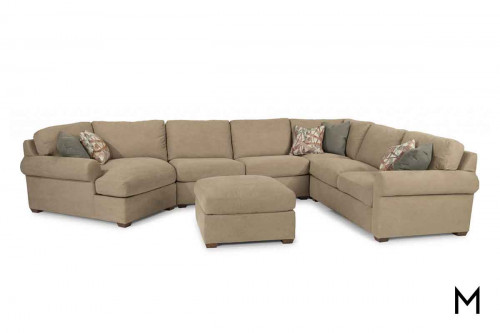 Randall 4 Piece Sectional with Chaise