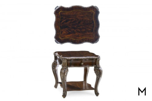 Gables Drawer End Table