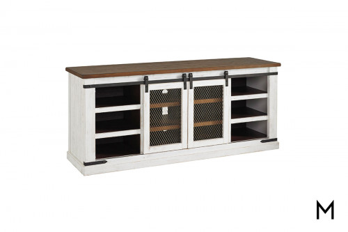 Wystfield Extra Large TV Stand with Shelves