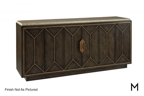 Woodwright Buffet with Bronze Finish