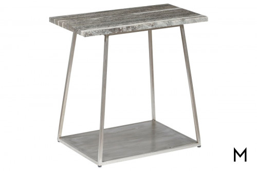 Iron Accent Table Top