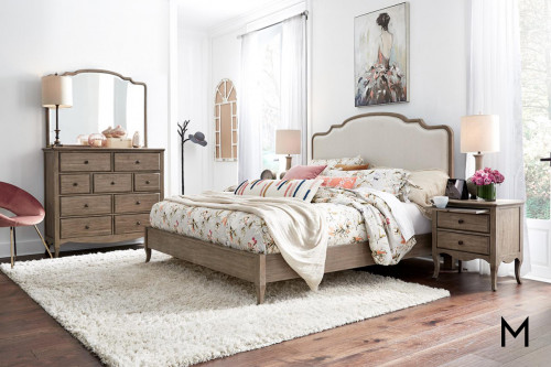Provence Patine Queen Bedroom Set