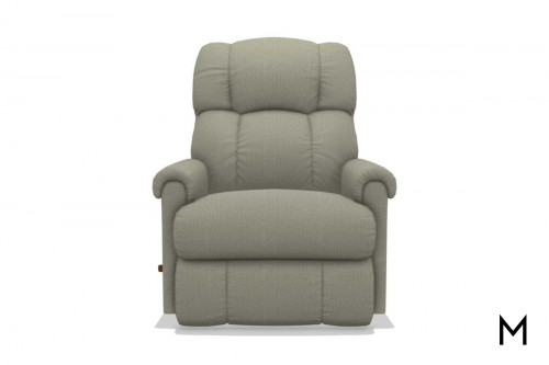 Pinnacle Rocking Recliner in Linen