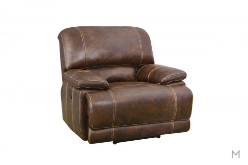 Foster Glider Recliner with Pillow Top Arms