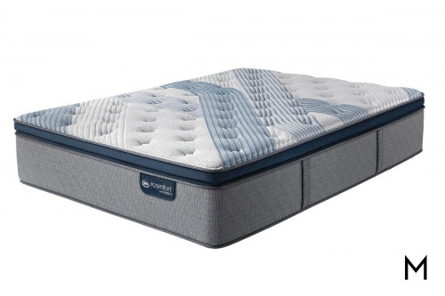 Serta iComfort Blue Fusion 1000 Plush Pillow Top Queen Mattress