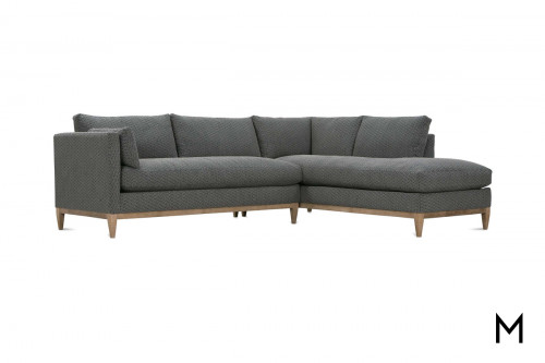 Leo 2 Piece Sectional with Chaise