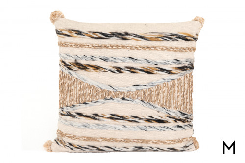 """Braided 20"""" Accent Throw Pillow"""
