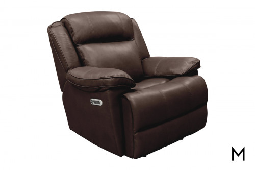 M Collection Milan Power Recliner with Power Headrest
