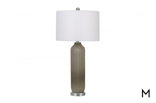 Warm Gray Table Lamp